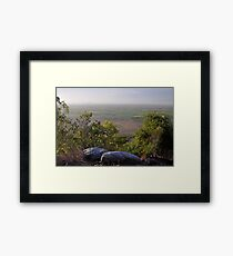 Mount Inkerman View - Northwest, Queensland, Australia 2012 Framed Print
