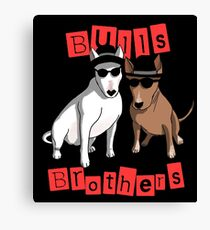 Bulls Brothers Canvas Print