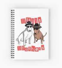 Bulls Brothers Spiral Notebook