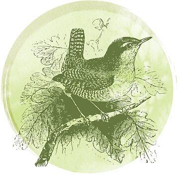 Spring bird by shadowisper