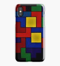 Tetris Heart - Dark Edition iPhone Case/Skin