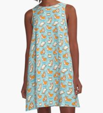 Corgi A-Line Dress