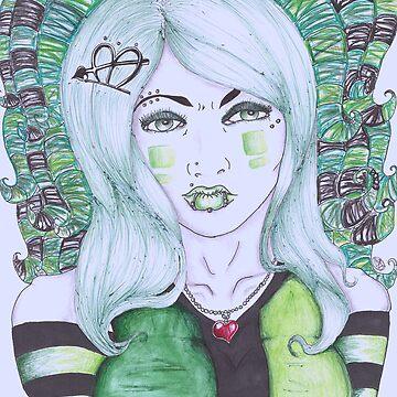Cyber goth by Alyss