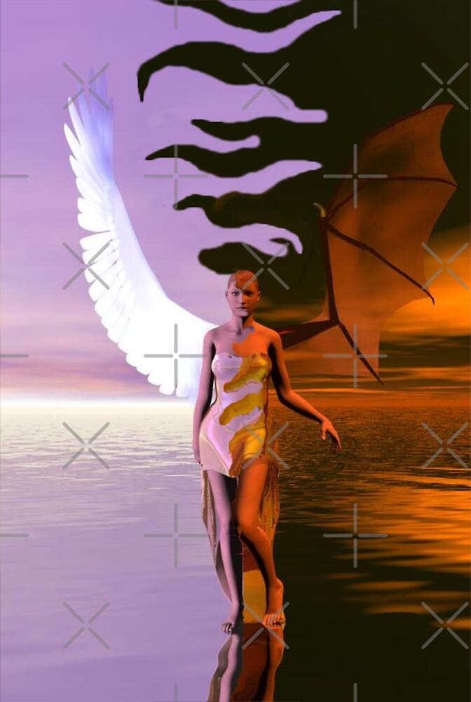 Good Vs Evil (The Struggle Within) by Rhonda Blais