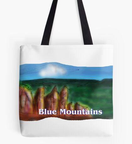 The Blue Mountains Tote Bag