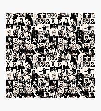 Elvis Presley pattern Photographic Print