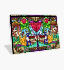 Patterns of the Stained Glass Window Laptop Skin