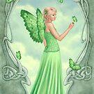 Peridot Birthstone Fairy by Rachel Anderson