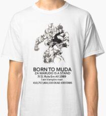 Jojo's Bizarre Adventure Part 3: Stardust Crusaders - Dio Brando Chinese Bootleg Classic T-Shirt