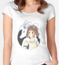 Mononoke Nintetales Women's Fitted Scoop T-Shirt