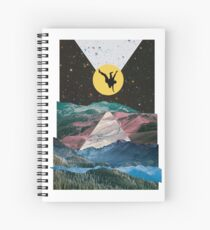 Man on the Moon Spiral Notebook