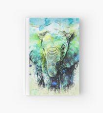 watercolor elephant Notizbuch
