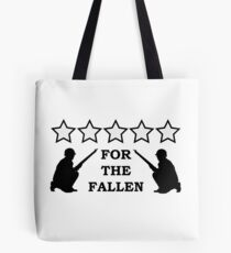 For the Fallen Tote Bag