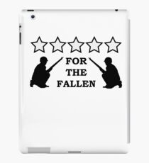 For the Fallen iPad Case/Skin
