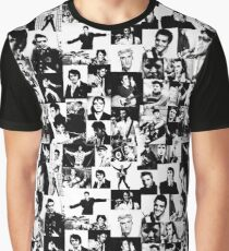 Elvis Presley pattern Graphic T-Shirt