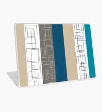 Blue Stripe Laptop Skin