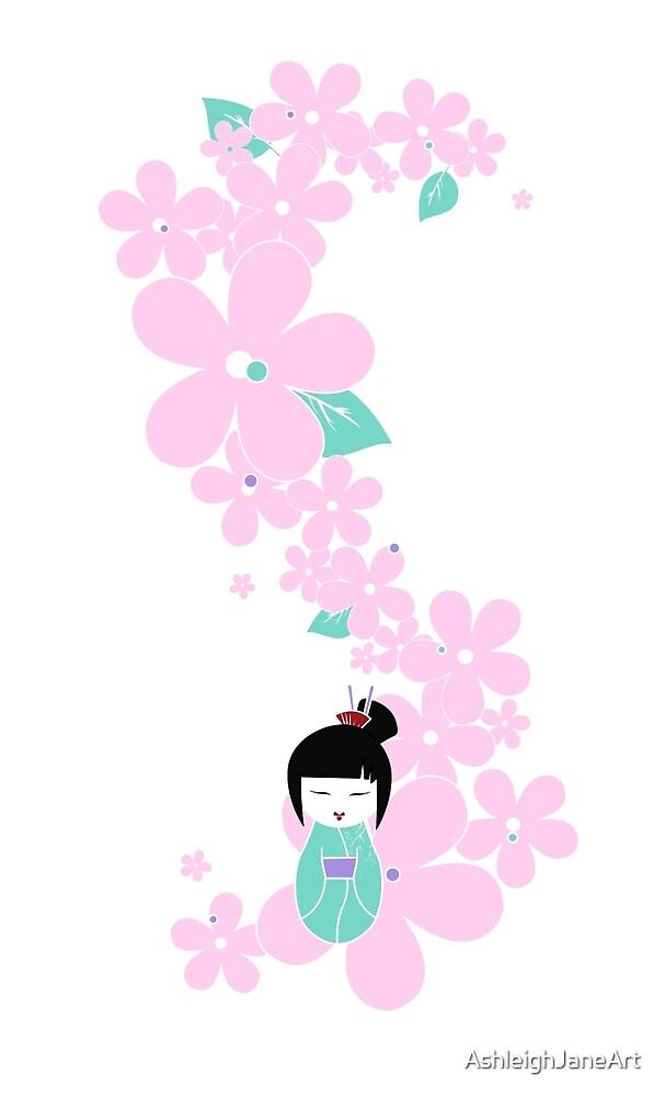 Geisha by AshleighJaneArt