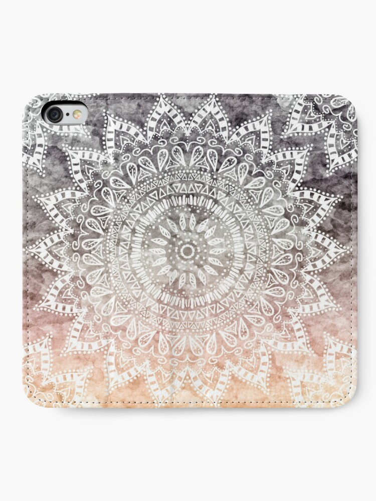Alternate view of BOHEMIAN HYGGE MANDALA iPhone Wallet