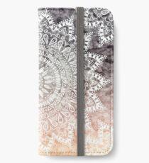 BÖHMISCHER HYGGE MANDALA iPhone Flip-Case/Hülle/Klebefolie