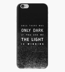 LIGHT vs. DARK iPhone Case