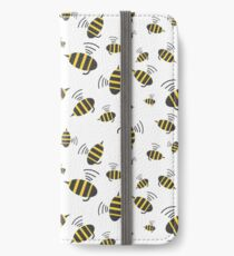 Buzzing Bumble Bees - A tribute to the bees of the world.  iPhone Wallet/Case/Skin