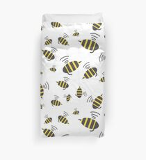 Buzzing Bumble Bees - A tribute to the bees of the world.  Duvet Cover