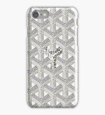 White Pattern Honore iPhone Case/Skin