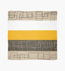 Yellow Stripe Scarf