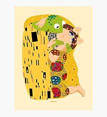 Klimt muppets Photographic Print