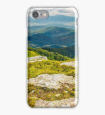 huge boulders in valley on top of mountain ridge iPhone Case/Skin