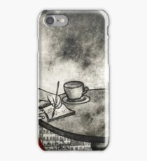 Sketching in the Louvre iPhone Case/Skin