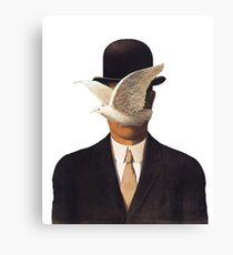Rene Magritte Mania Canvas Print