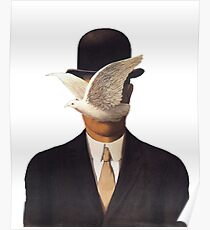 Rene Magritte Mania Poster