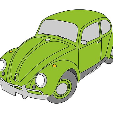 VW Beetle by loreleipelaez