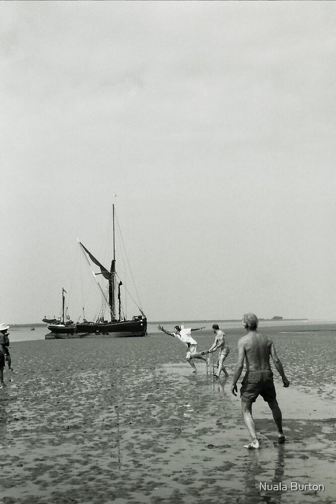 Cricket on the Sands by Nuala Burton
