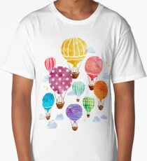 Hot Air Balloon Long T-Shirt
