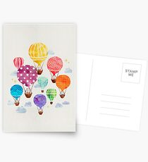 Hot Air Balloon Postcards