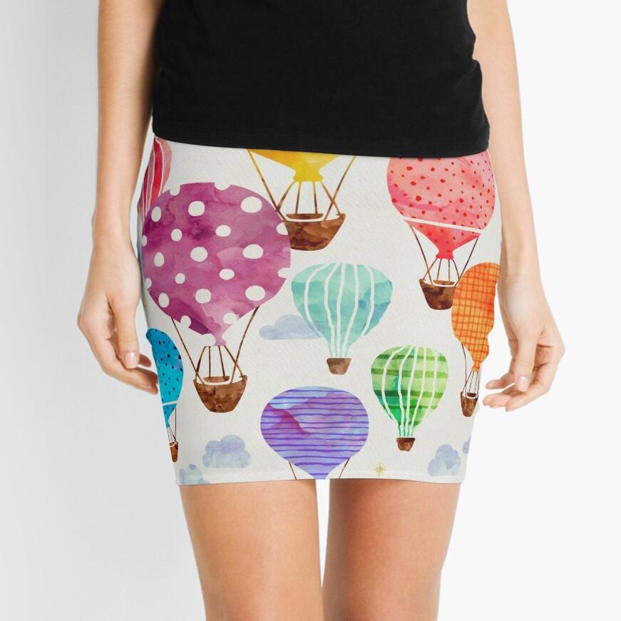 Hot Air Balloon Mini Skirt