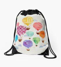 Hot Air Balloon Drawstring Bag
