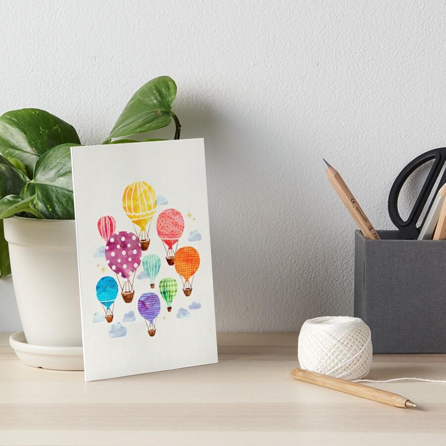 Heißluftballon Galeriedruck