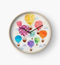 Heißluftballon Uhr