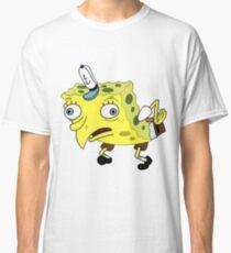 Mocking Spongebob Meme Classic T-Shirt