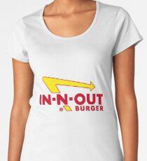 In n Out Burger Women's Premium T-Shirt
