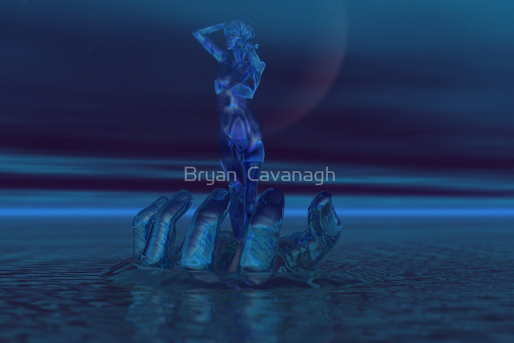 Blue Moon Fantasy by Bryan  Cavanagh