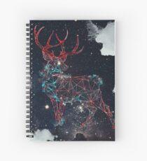 Celestial Deer Spiral Notebook