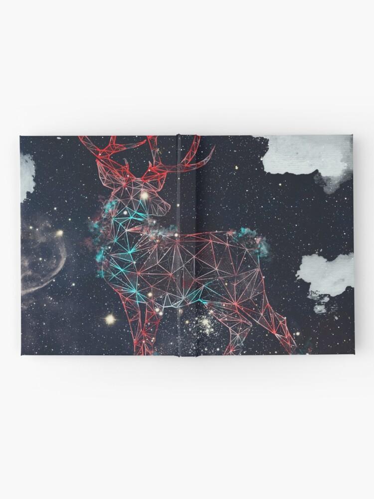 Alternative Ansicht von Himmlische Hirsche Notizbuch