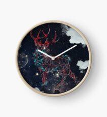 Celestial Deer Clock