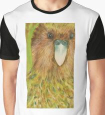 Kakapo: But I cannot fly! Graphic T-Shirt