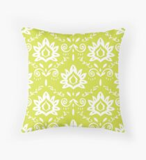 ISLANDER in Chartreuse Throw Pillow