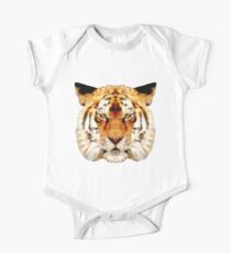 abstract tiger One Piece - Short Sleeve
